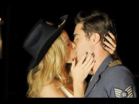 Zac Efron Kisses Halston Sage in Townies - First Look!