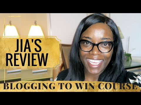 BLOG COURSE WORKBOOK REVIEW   BLOGGING TO WIN   JIA