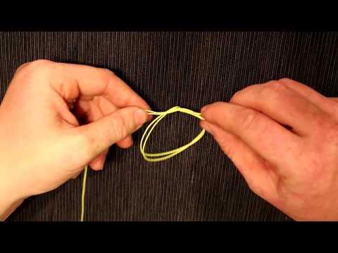 My favorite fishing knot the surgeons loop - figure eight loop