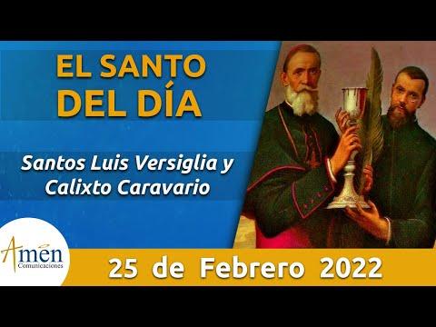 Santos Luis Versiglia Y Calixto Caravario L Martes 25 De Febrero De 2020 L Padre Carlos Yepes