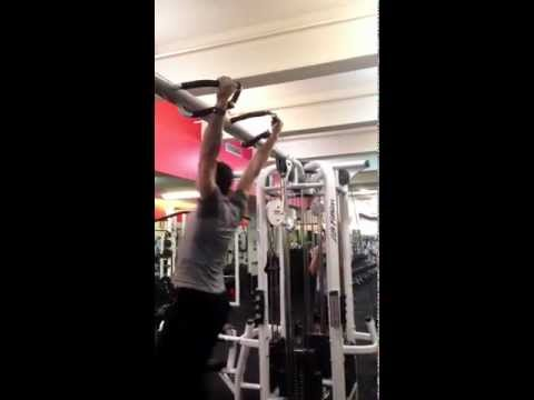 Gym Muscle-Ups at Equinox 50th and Broadway
