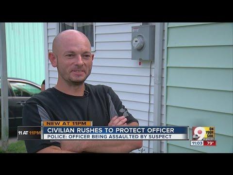 Neighborhood 'hero' steps in to help Blanchester police officer struggling to make arrest