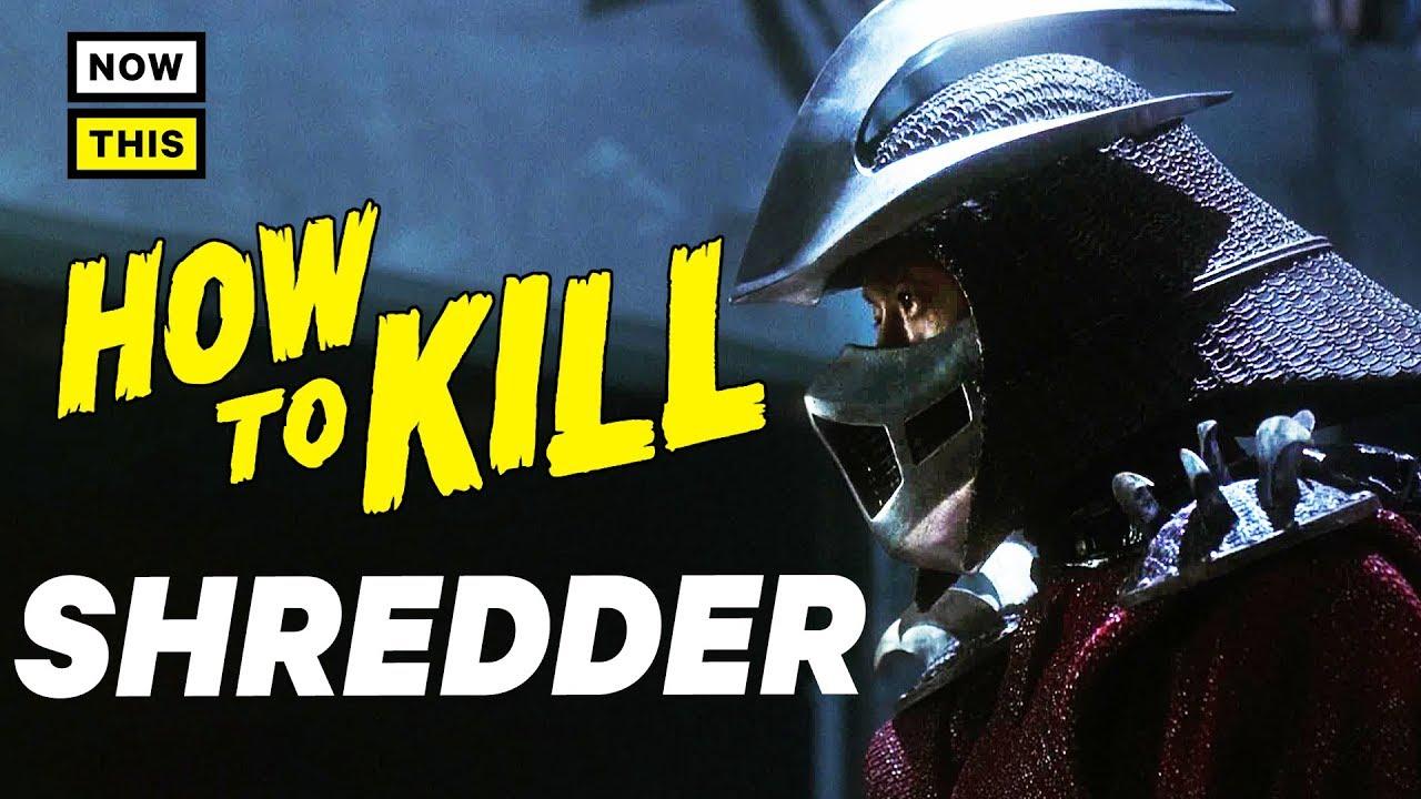 How To Kill Shredder Nowthis Nerd Nowthis Nerd