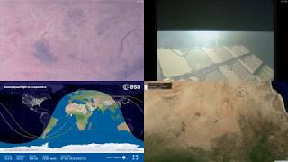 African Coastlines - NASA/ESA ISS LIVE Space Station With Map - 311 - 2018-12-07