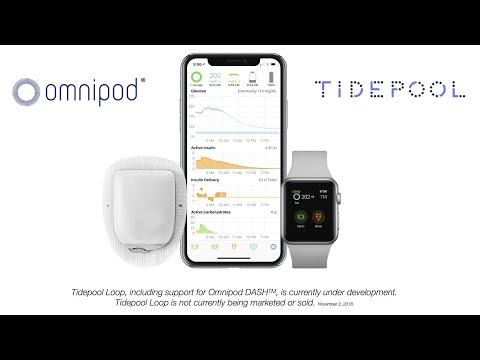 Tidepool Loop- Omnipod Dash Announcement -DData 2018