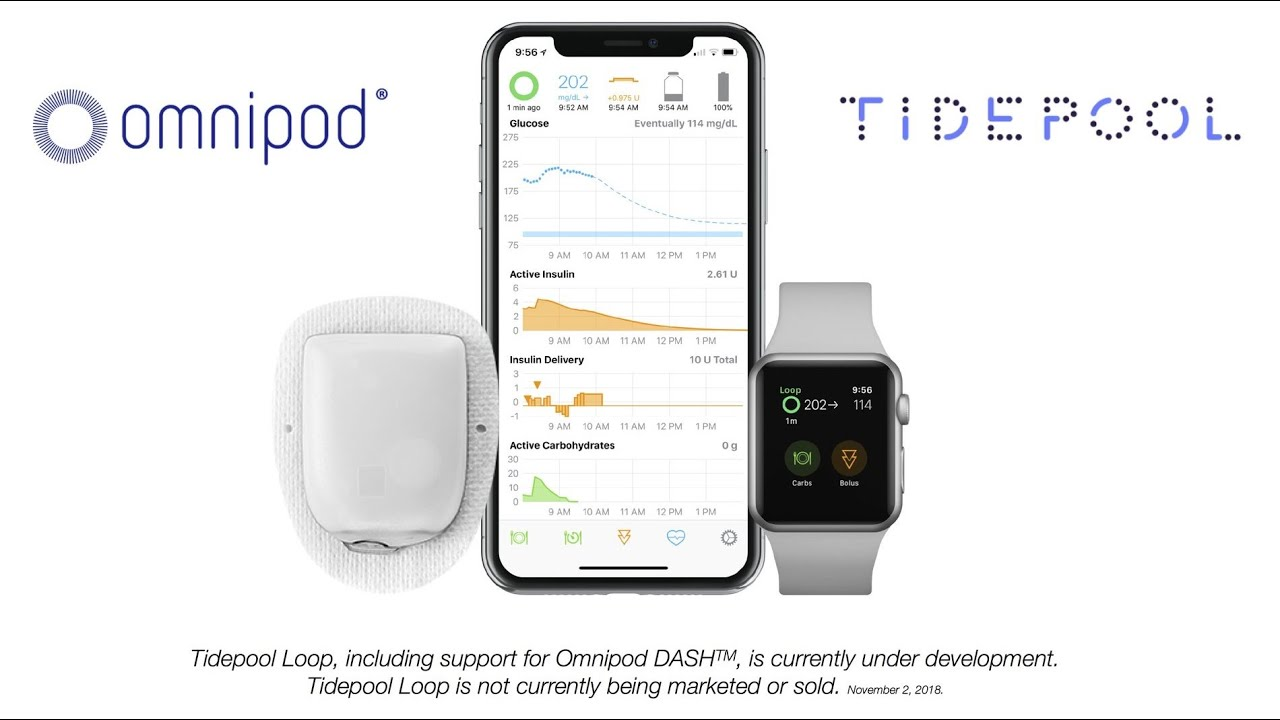 Tidepool Loop- Omnipod Dash Announcement -DData 2018