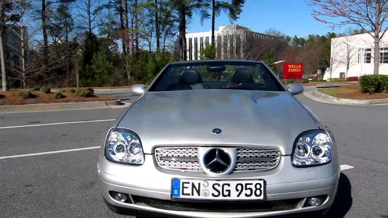 1999 mercedes benz slk230 custom and beautiful youtube for 1999 mercedes benz slk 230 hardtop convertible