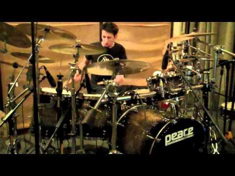 Kin Rivera Jr - Linkin Park - New Divide (Drum Cover)