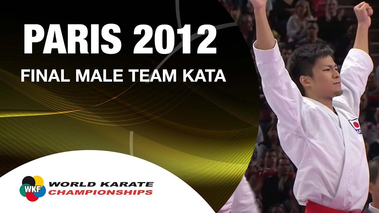Karate Japan vs Italy. Final Male Team Kata. WKF World Karate ...