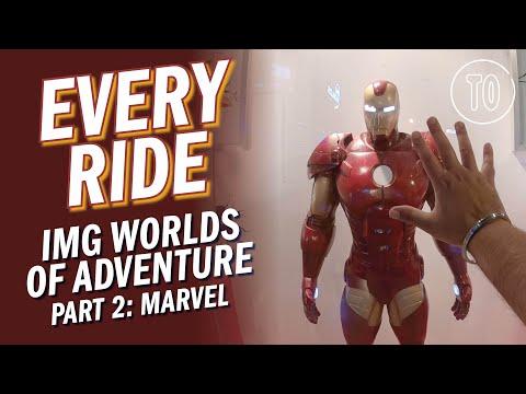 IMG Worlds of Adventure Themepark PART 2: MARVEL (POV)
