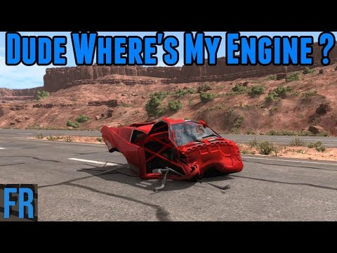 BeamNG Drive - Dude Where's My Engine ?