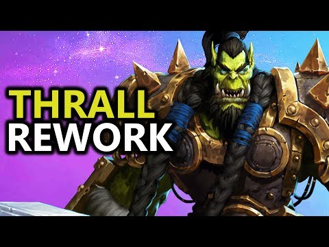 ♥ Heroes of the Storm (HotS) - Thrall Rework First Impressions