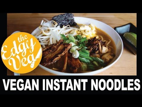 Vegan Ramen Recipe - Vegetarian | Edgy Veg