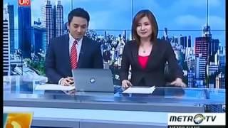 Presenter Metro Tv Ketawa Ngak jelas..