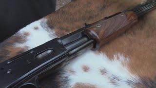 Pedersoli Lightning Pump Action Rifle