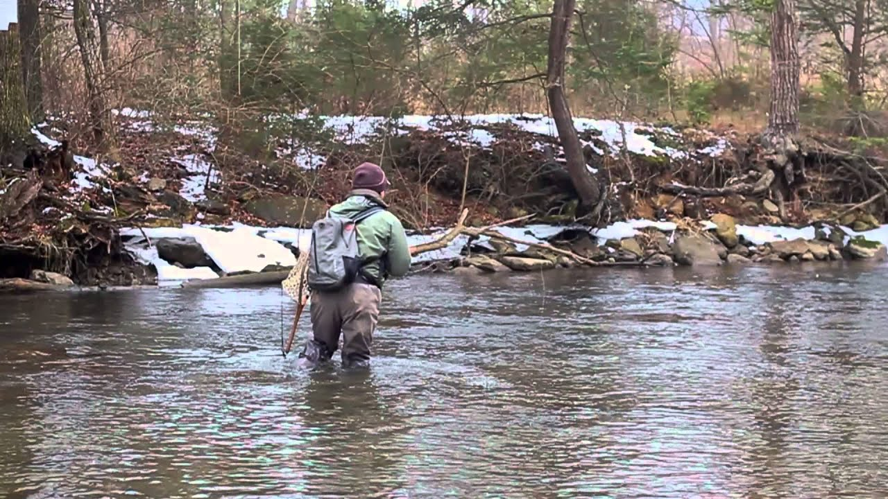 Fly fishing yellow creek bedford pennsylvania youtube for Fishing in pennsylvania