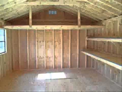 Shed Building Instructions How To Build 12 X 12 Shed