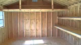 Shed Building Instructions - How To Build 12 X 12 Shed