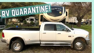 TIME TO GET OUTSIDE! || RV QUARANTINE VLOG