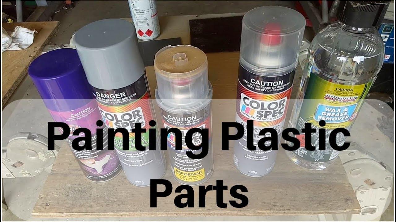 Painting Plastics (Toyota Celica) - Basket Case Builds