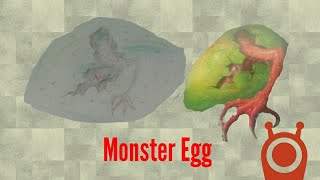 How To Draw A Monsters Egg