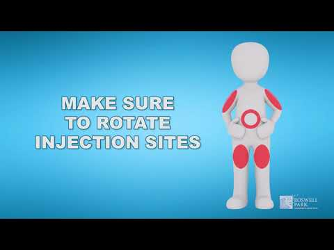 Subcutaneous Injections | Roswell Park Patient Education