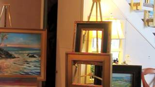 How to Frame a Painting - Part 1 of 2