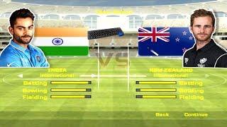 ea sports cricket 2017 - india vs new zealand 2017 - 1st ODI pc  gameplay