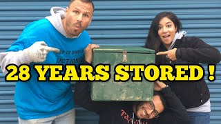 28 YEARS STORED $20,000 IN FEES / I Bought An Abandoned Storage Unit Locker With Mystery Boxes