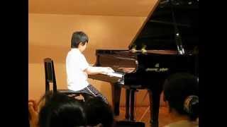 小学校最後のピアノ発表会♪ryoが選曲「春よ、来い」