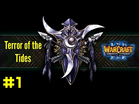 Warcraft III The Frozen Throne: Night Elf Campaign #1 - Rise