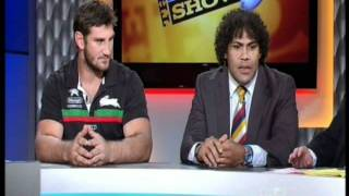 David Taylor NRL Footy Show Highlights & Interview South Syndey Rabbitohs