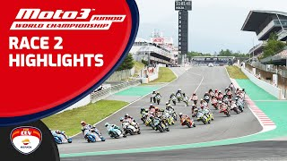 Highlights Race 2 Moto3™ Junior World Championship Barcelona Catalunya