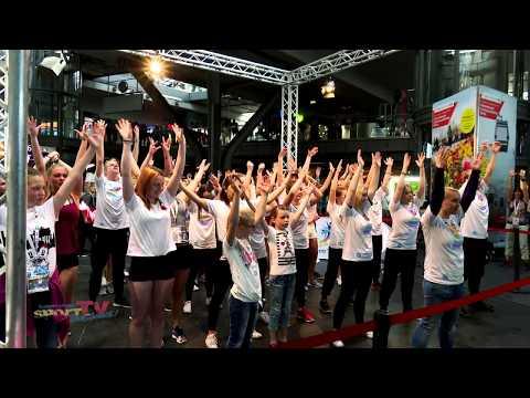Intern. Deutsches Turnfest Berlin 2017 |  Flashmob am Berliner Hauptbahnhof