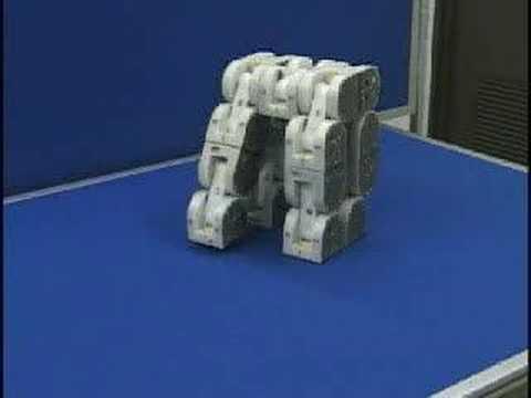 木の四足歩行ロボット2010 Wooden 4 Legged Robot Doovi