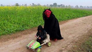 Shaitan vs Bacha Tallah play with Toy Car ( Shaitan ke New Chal )