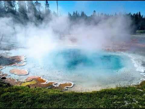 YELLOWSTONE NATIONAL PARK ( First National Park in the World ) , Famous for Geysers -   VLOG PART -1