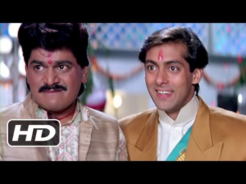 Madhuri Steals Shoes - Super Hit Bollywood Fun Scene - Hum Aapke Hain Koun - #20YearsOfHAHK