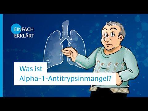 Was ist Alpha-1-Antitrypsinmangel