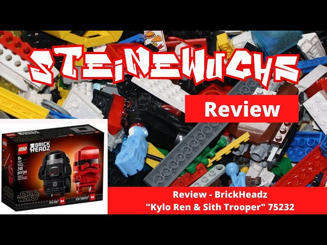 Review - Lego BrickHeadz Kylo Ren & Sith Trooper 75232