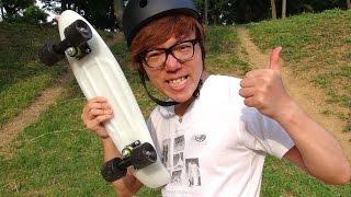 初めてスケボー乗ってみた! ペニー スケートボード Penny Skateboards thumbnail