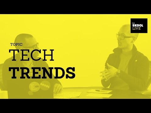Tech Trends for Designers
