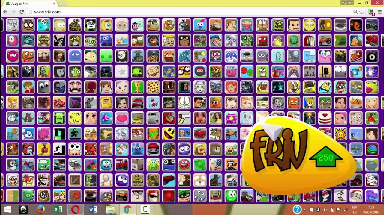 como jugar juegos friv pc - YouTube