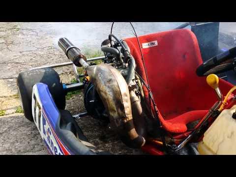 FOR SALE!! Honda CR125 stock moto shifter kart