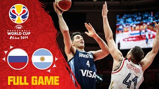 Russia v Argentina was an evenly matched bout! - Full Game - FIBA Basketball World Cup 2019