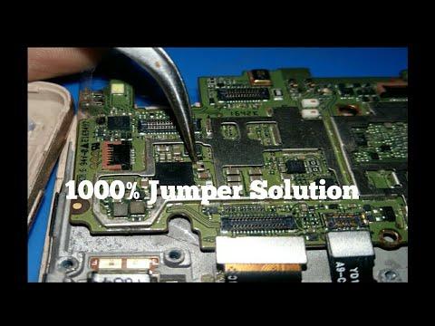 Repeat mi redmi 3s prime Display light problem black blue ic 100