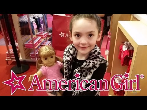 American Girl Doll Store Florida Mall Orlando Shopping For First Doll