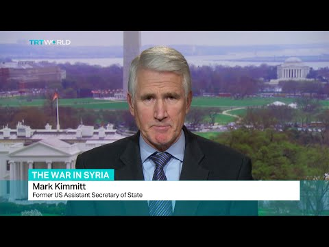 Interview with Mark Kimmitt about Russia's withdrawal from Syria