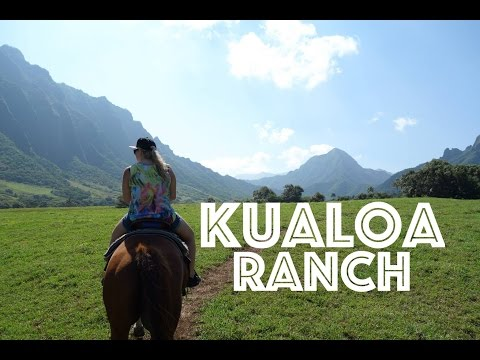 Hawaii Adventures: Kualoa Ranch - Horse Riding Tour
