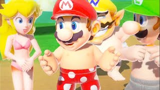 "Super Mario Party ""Beach Party Pack"": Minigame Adventure #01"
